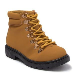 OLIVIA MILLER OMG Lace-Up Hiker Boot IN YELLOW 12